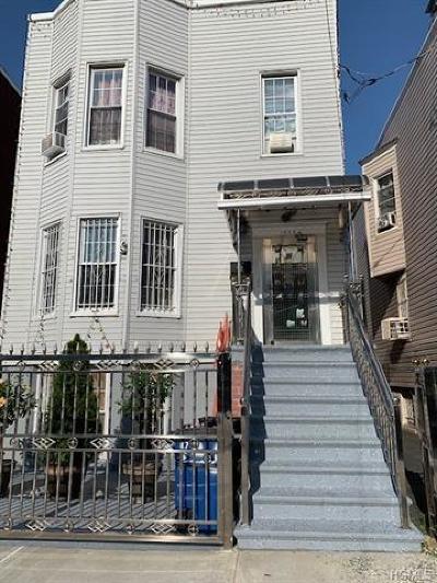 Bronx NY Multi Family 2-4 For Sale: $890,000