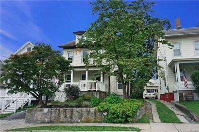 Ossining Single Family Home For Sale: 12 Washington Avenue