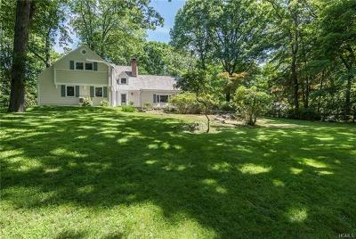 Croton-On-Hudson Single Family Home For Sale: 109 Upper North Highland Place
