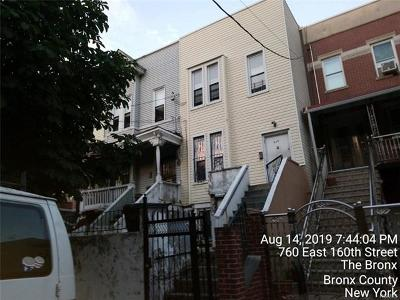 Bronx County Single Family Home For Sale: 830 Tinton Avenue