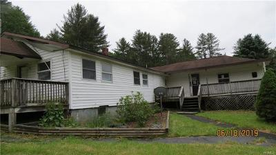 Cochecton NY Single Family Home For Sale: $52,500