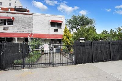 Bronx Single Family Home For Sale: 1383 Intervale Avenue