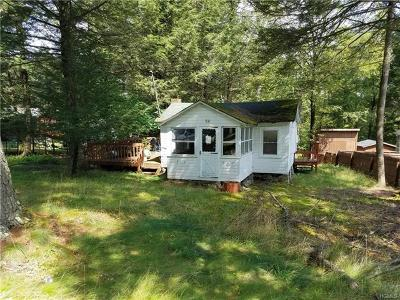 Smallwood NY Single Family Home For Sale: $19,000