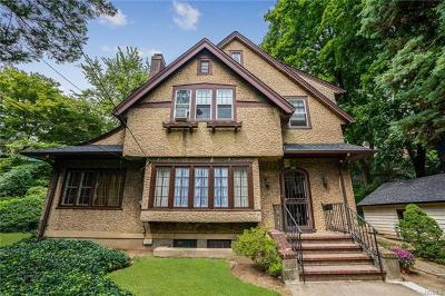 Westchester County Single Family Home For Sale: 103 Parkview Avenue
