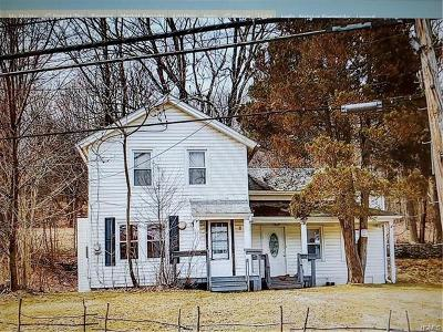 Fallsburg NY Single Family Home For Sale: $115,900