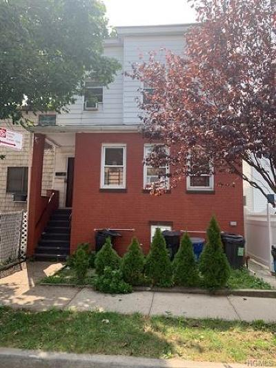 Bronx Multi Family 2-4 For Sale: 933 Havemeyer