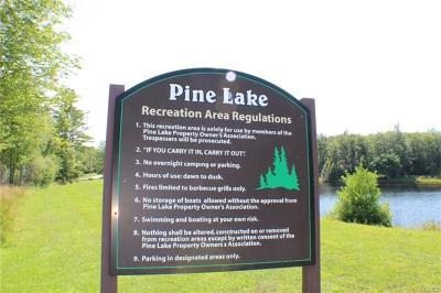 Wurtsboro Residential Lots & Land For Sale: Pine Lake Drive
