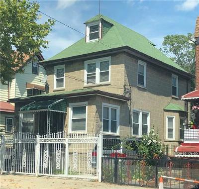 Bronx Single Family Home For Sale: 761 East 230th Street