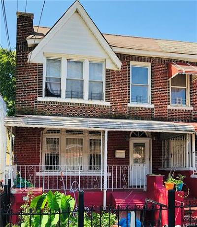 Bronx Multi Family 2-4 For Sale: 649 St Lawrence Avenue