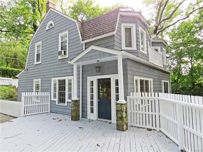 Hastings-on-hudson Single Family Home For Sale: 97 Summit Drive