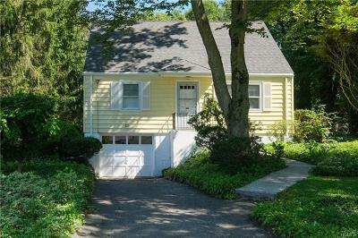 Cortlandt Manor Single Family Home For Sale: 21 Crestview Avenue