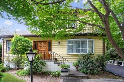Hastings-On-Hudson Single Family Home For Sale: 54 James Street