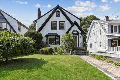 White Plains Single Family Home For Sale: 92 Longview Avenue