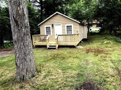 Smallwood NY Single Family Home For Sale: $59,900