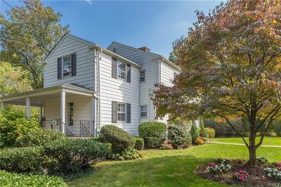 Bronxville Single Family Home For Sale: 24 Edgewood Lane