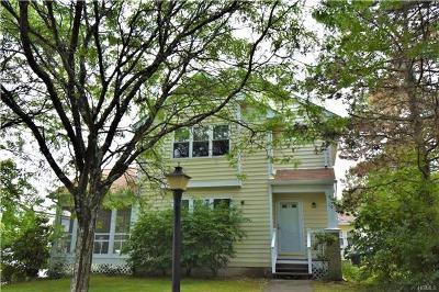 Dutchess County Single Family Home For Sale: 10 Taconic Street