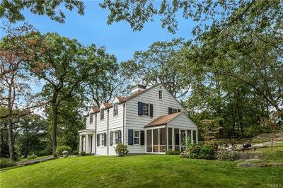 Bronxville Single Family Home For Sale: 93 Aka 91 Rockledge Road