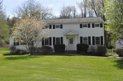 Dutchess County Single Family Home For Sale: 2814 Salt Point Turnpike