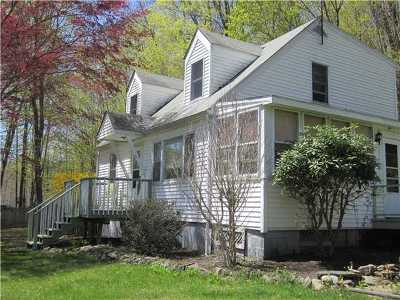 Single Family Home Sold: 475 Old Mountain Road