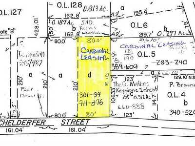 Cardington Residential Lots & Land Contingent Finance And Inspect: 117 Richelderfer Street #LOT 127-