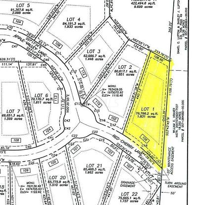 Granville Residential Lots & Land For Sale: 106 Red Cherry Lane