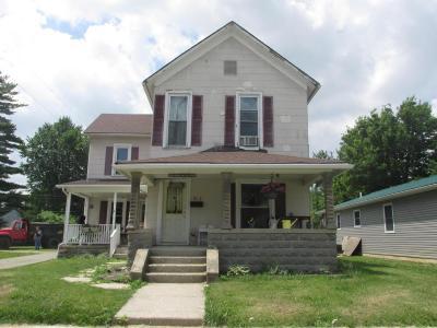 Washington Court House OH Single Family Home For Sale: $59,000