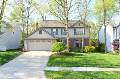 Hilliard Single Family Home Sold: 5232 Windsock Court