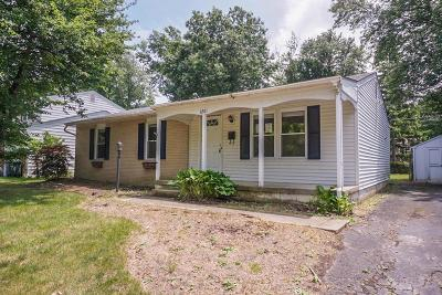 Reynoldsburg OH Single Family Home Sold: $68,000