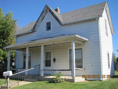 Washington Court House OH Single Family Home For Sale: $43,000