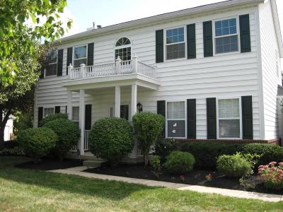 Lewis Center Single Family Home Sold: 2355 Cross Creek Court