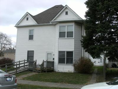 Circleville Multi Family Home For Sale: 128 W Ohio Street