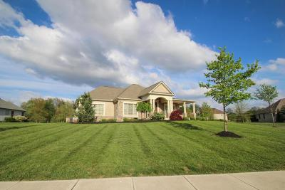 Pickerington Single Family Home Contingent Finance And Inspect: 13960 Tollbridge Way NW