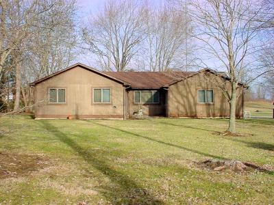 Single Family Home Sold: 4576 Johnstown Utica Road