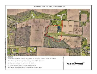 Johnstown OH Residential Lots & Land Closed: $385,000