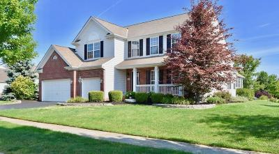 Dublin Single Family Home Contingent Finance And Inspect: 5549 Tayside Circle