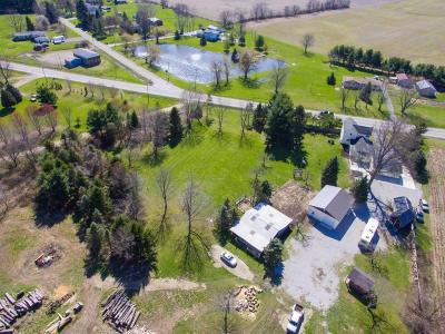Johnstown Single Family Home Contingent Finance And Inspect: 8116 Johnstown Utica Road