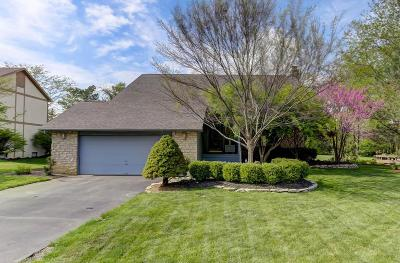 Dublin Single Family Home Contingent Finance And Inspect: 5914 Whitecraigs Court