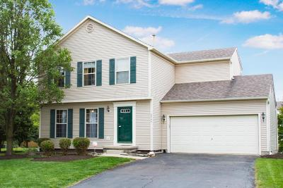 Hilliard Single Family Home Sold: 2346 Mills Fall Drive