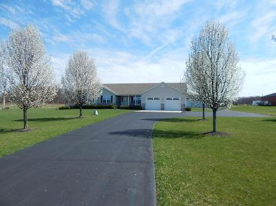 Single Family Home Sold: 7325 Johnstown Utica Road