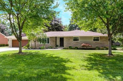 Upper Arlington Single Family Home Contingent Finance And Inspect: 3945 Overdale Drive