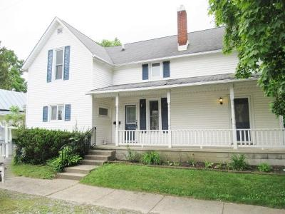 Mount Vernon OH Single Family Home For Sale: $115,000