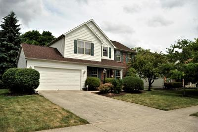 Hilliard Single Family Home Contingent Finance And Inspect: 4898 Davidson Run Drive