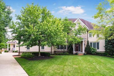Upper Arlington Single Family Home For Sale: 3911 Tarrington Lane