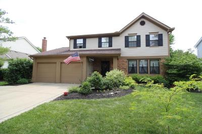 Dublin Single Family Home Contingent Finance And Inspect: 6291 Valley Stream Drive