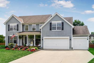 Hilliard Single Family Home Sold: 6029 Pinto Pass Drive