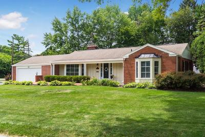 Upper Arlington Single Family Home Contingent Finance And Inspect: 3421 Inverness Way