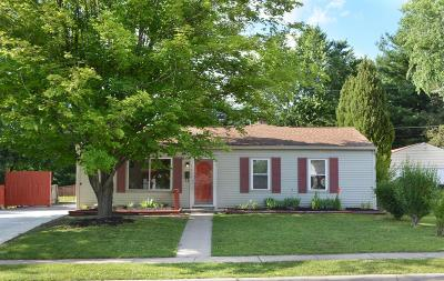 Reynoldsburg Single Family Home Contingent Finance And Inspect: 7400 Marlan Avenue