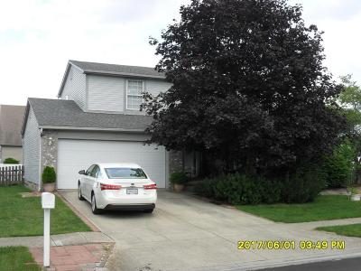 Hilliard Single Family Home Contingent Finance And Inspect: 2362 Oakthorpe Drive