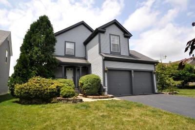 Pickerington Single Family Home Contingent Finance And Inspect: 3143 Alderbrook Drive