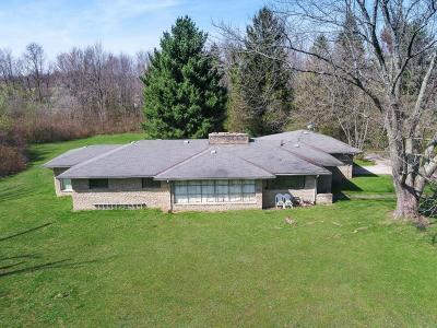 New Albany Single Family Home For Sale: 7821 E Dublin Granville Road